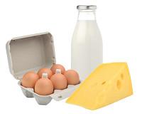 Produits laitiers, oeufs, fromages et desserts