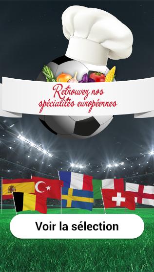 Retrouvez nos spécialités européennes