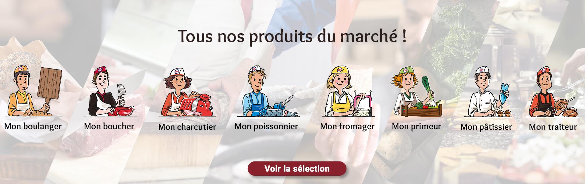 Tous nos produits du marché