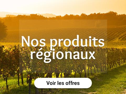 Nos produits régionaux