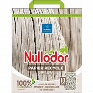 Nullodor litière papier recyclé 10 L