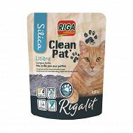 RIGA riga'lit clean Pat' litière silice semi-ronde 1.5kg (3.3L)