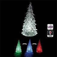 Sapin lumineux led H 14 cm