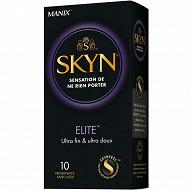 Manix preservatifs skyn elite x10