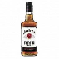 Jim beam whisky white 70cl 40% vol