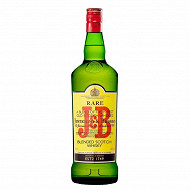 J&B rare whisky 1L 40%vol