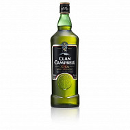 Clan Campbell scotch whisky 1l 40%vol
