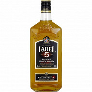Label 5 scotch whisky 1.5l 40% vol