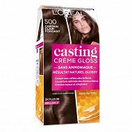 Casting crème gloss coloration 500 châtain clair fondant