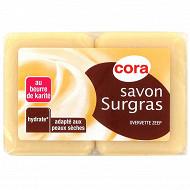 Cora savon surgras 2x100g
