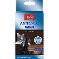 Melitta doses x2 anti calcaire machine espresso 80g