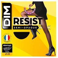 Collant semi opaque beauty resist x1 DIM NOIR T4