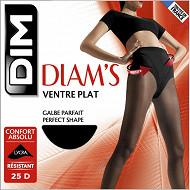 Collant semi opaque ventre plat Diam's DIM NOIR T2