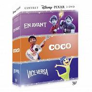 Coffret 3 dvd en avant , coco, vice versa