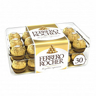 Ferrero rocher 30 bouchées boite 375g