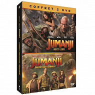 Coffret 2 dvd jumanji : bienvenue dans la jungle +  JUMANJI NEXT LEVEL