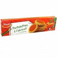 Tartelettes à l'abricot 150g