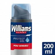 Williams Gel à raser peaux sensibles 200ml