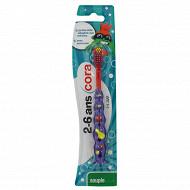 Cora kido brosse à dent enfant x1 souple