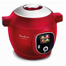 Moulinex Cookeo+ rouge 180 recettes CE85B510