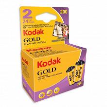 Kodak Lot de 2 peliicules Gold 200 iso 24 poses 6033963