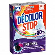 Décolor stop intense lingettes anti-décoloration x20