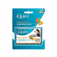 Quies protection auditives mousses fluo x16