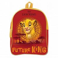 Sac à dos gouter 24 cm Le roi lion rouge et jaune