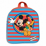 Sac à dos gouter maternelle rouge mickey