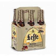 Leffe blonde basket pack 6x33cl 6.6%vol