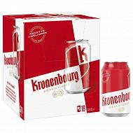 Kronenbourg can 18x33cl 4.2%vol