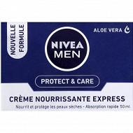 Nivea For Men crème nourrissante express Protect & Care 50ml