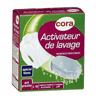 Cora tablettes activateur de lavage x 10