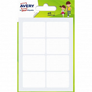 Avery-48  étiquettes multi-usages- 24x35  mm