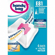 Handy bag sac aspirateur E81