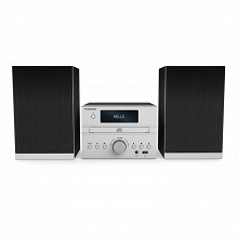 Thomson Micro chaine bt radio cd mp3 usb silver MIC122BT