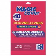 Elba 10 couvre livre magic cover pvc 90/100 lisse incolore
