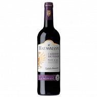 Vin pays d'Oc cabernet sauvignon by Haussmann 75cl 13% vol