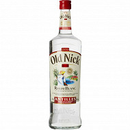 Old nick rhum blanc traditionnel 1L 40%vol