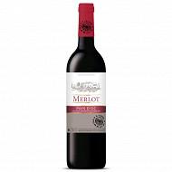 L'âme du terroir vin de Pays d'OC Merlot rouge 75 cl 12,5% Vol.