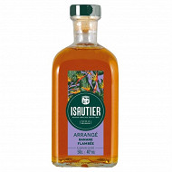 Isautier arrange banane flambee 50cl 40%vol