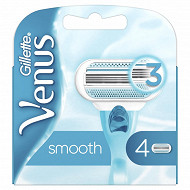 Gillette lames Venus Smooth standard x4