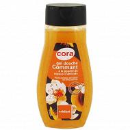 Cora gel douche gommant à la poudre de noyaux d'abricot 250ml