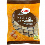 Cora pâtes réglisse saveur vanille 130g