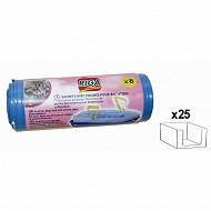 Riga - Sachets plastique avec poignées pour litière x8 50x38,5 cm