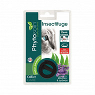 Phytosoin collier insectifuge réfléchissant chat