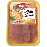 Le Gaulois la belle escalope de dinde x2 240g