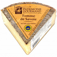 Patrimoine gourmand tomme de Savoie IGP au lait cru 30%mg 300g