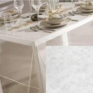 """Nappe cristal """"bulles"""" rect 140x240cm"""