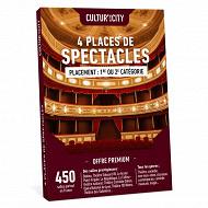 Coffret cadeau Cultur'in the City - 4 places de spectacles Premium